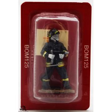 Intervento di vigile del fuoco del Prado tenuto figurina Italia 2004