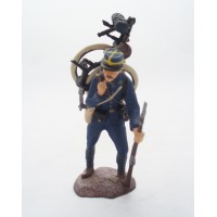 Figurina Atlas pelosi delle truppe coloniali del 1918