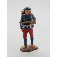 Figurine Atlas infantryman of 1914 alpine infantry