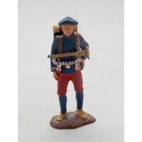 Soldado de infantería de Atlas estatuilla de infantería alpestre de 1914
