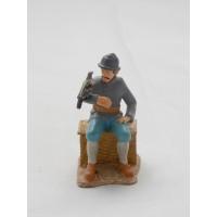 Soldado de infantería de Atlas estatuilla de infantería alpestre 1914