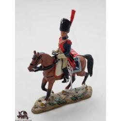 Figurine Del Prado Homme de troupe Carabinier France 1800