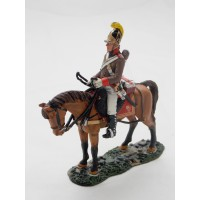 Figurine Del Prado Homme de troupe Dragon Italie 1810