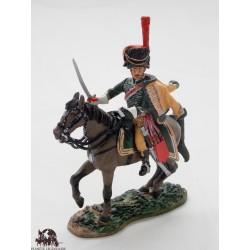 Figurine Del Prado Officier de Hussard Régiment Burgos 1813-14