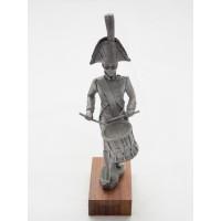 Peltro Principe cappello cinese imperiale guardia 1809