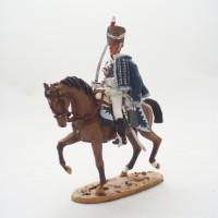 Luz de estatuilla del Prado Húsar caballería GB 1813