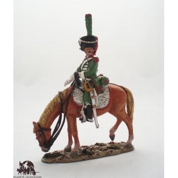 Estatuilla italiana del Prado cazador del 2 º Regimiento, 1812