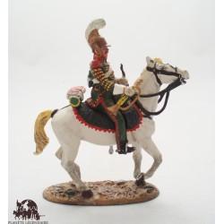 Figurine Del Prado Cavalier Léger Lancier Garde Impériale France 1812