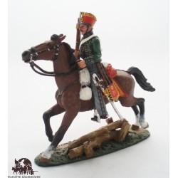 Figurine Del Prado Hussard Autriche 1814