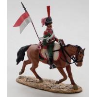 Figurine Del Prado Chevau léger 1er régiment Duché de Berg 1812