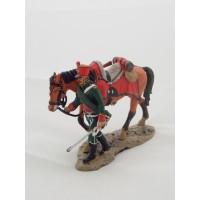Figurina Del Prado Chevau luce 1 ° Reggimento Ducato di Berg 1812