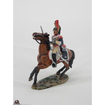 Figurine Del Prado Cuirassier 5e France 1806-12