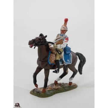 Figurine Del Prado Cavalier Carabinier France 1812