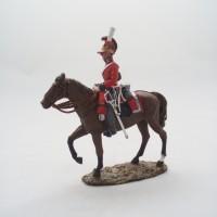 Figurine Del Prado Officier 1er Garde Légère G.-B. 1815