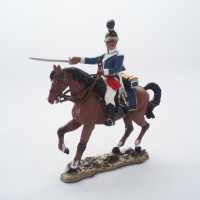 Figurine Del Prado Trompette Cavalier Portugais 1806-1810