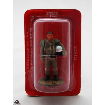 Del Prado firefighter fire Mongolia 2004 dress figurine