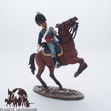Figurine Del Prado Officier 20e Dragon Léger G.-B. 1808