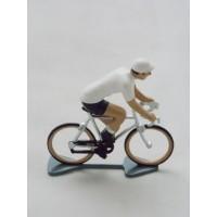 Figurine CBG Mignot Cycliste Maillot Blanc Tour de France