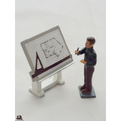 Figurine CBG Mignot architect