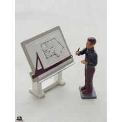 Figurine CBG Mignot Architecte