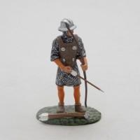 Estatuilla Altaya arquero inglés del siglo XIII