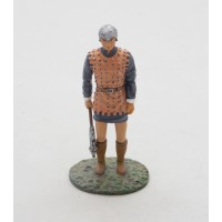 Figurine Altaya man walk the 14th century Castilian