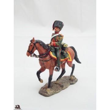 Figure Del Prado Officer Hunter on Horseback guard 1809