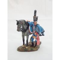 Estatuilla Del Prado trompeta cazador de la Guardia consular 1803