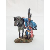 Figurine Del Prado Capitaine Hussard Belge 1815