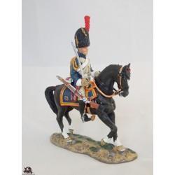 Figurine Del Prado Grenadier à cheval Garde Impériale France 1810