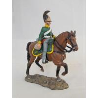 Hombre de tropa Del Prado 13 de estatuilla dragones de Reino Unido. 1811