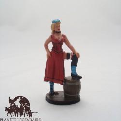 Figurine Del Prado Fille de Saloon