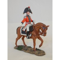 Figurine Del Prado Officier d'Etat Major Anglais 1815