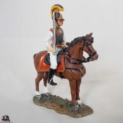 Figurine Del Prado Officier Cuirassier Autrichien 1814