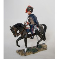 Figurina Del Prado capitano Hussard belga 1815