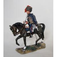 Figurine Del Prado Soldat 1er  de Hussard Légion allemande du Roi 1815