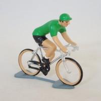 Figurine di CBG Mignot ciclista maglia verde Tour de France