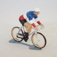 Figurine CBG Mignot Cycliste Maillot Champion de France