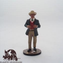 Figurine del giocatore di carta del Prado