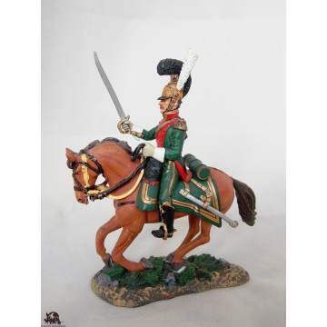 Figurine Del Prado Officier Chevaux légers Lancier France 1813