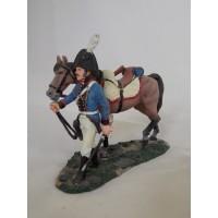 Figurine Del Prado artillery at horse Prussia 1806