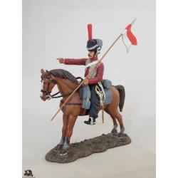 Figurine Del Prado Tatar de Lituanie Garde Impériale France 1812