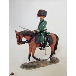 Figure Del Prado Troop man, Nassau Hunter, 1810