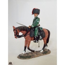 Figurine troop Del Prado man, Hunter Nassau, 1810