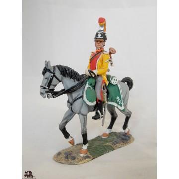 Figurine Del Prado Chasseur à cheval du Roi 1809