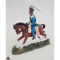 Figurine Del Prado Soldat Hussard France 1813