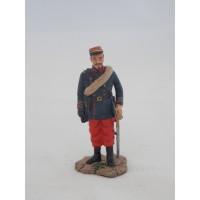 Capitán Hachette estatuilla del regimiento extranjero 1870