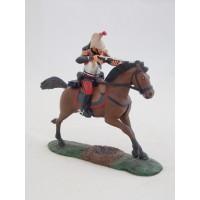 Ufficiale di Atlas figurina di corazzieri a cavallo 1914