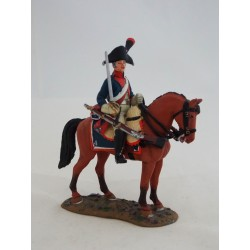 Del Prado troop man figurine 4th Cavalry France 1796