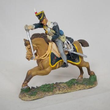 Figurine Del Prado Homme de troupe 13e Dragons G.-B. 1811
